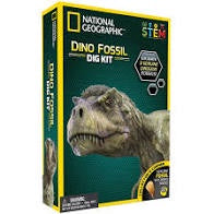 NATIONAL GEOGRAPHIC- DINO FOSSIL DIG KIT
