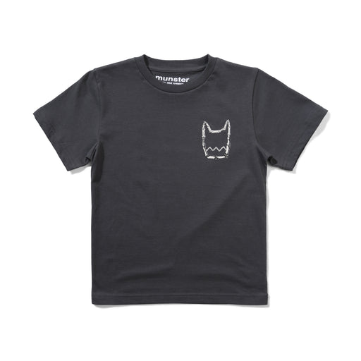 MUNSTER FLY THE FLAG TEE CHARCOAL