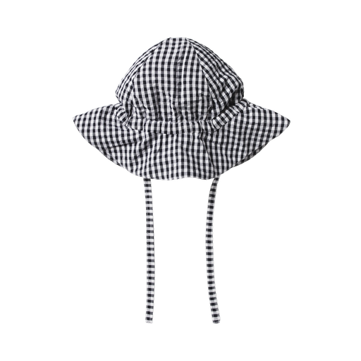 NATURE BABY GINGHAM SUNHAT
