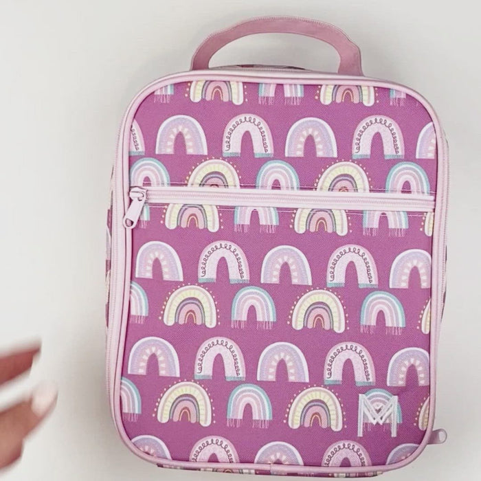 MONTII INSULATED LUNCH BAG - CHASING RAINBOWS