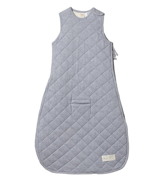 NATURE BABY QUILTED DUVET SLEEPING BAG GREY MARLE