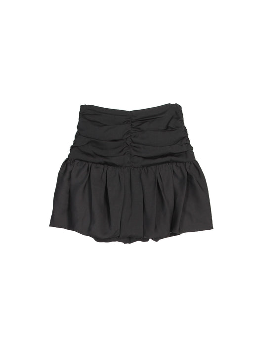 MINI FED ROUCHE SKIRT BLACK