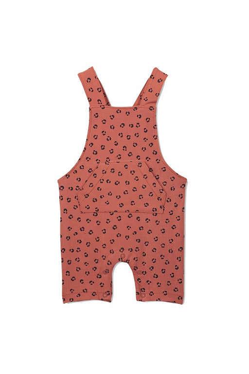 MILKY BABY ANIMAL OVERALL RUST