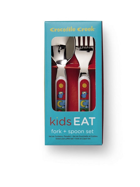 CROCODILE CREEK CUTLERY SET -  KIDS WORLD