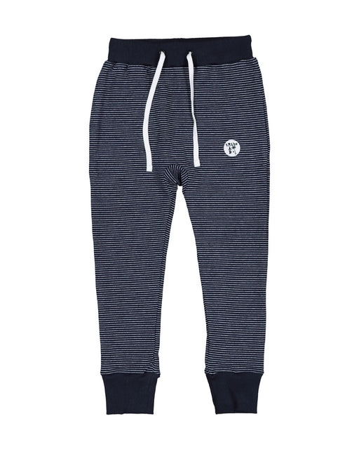 RAD TRIBE PATCH PANT IN NAVY STRIPE