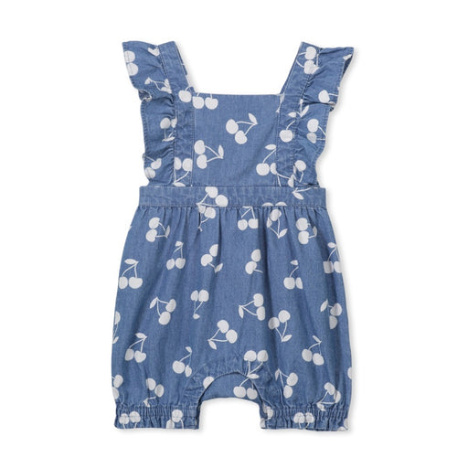 MILKY DENIM PLAYSUIT