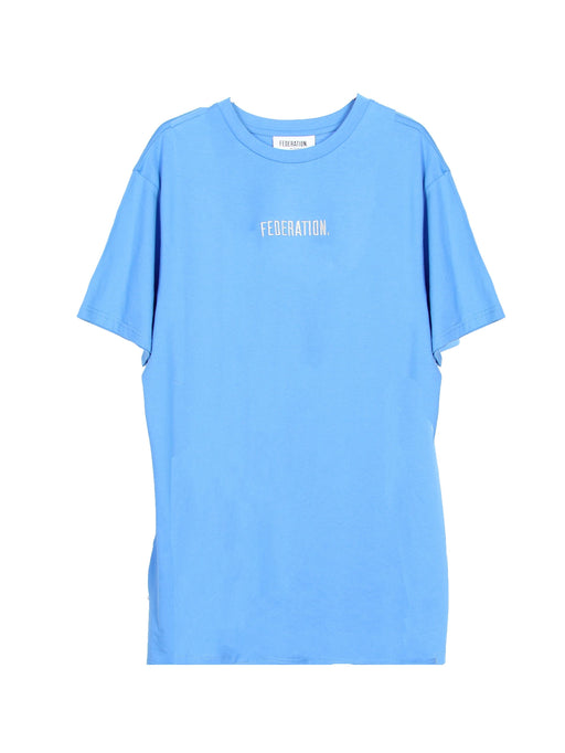 MINI FED RAD TEE TYPED OCEAN