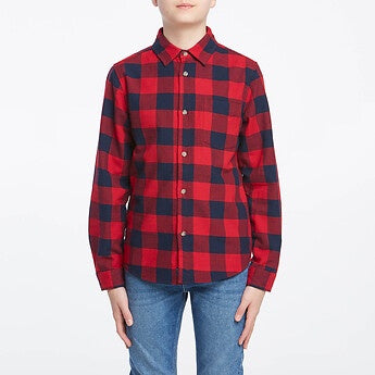 RIDERS BOYS CHECK SHIRT WINTER CHECK