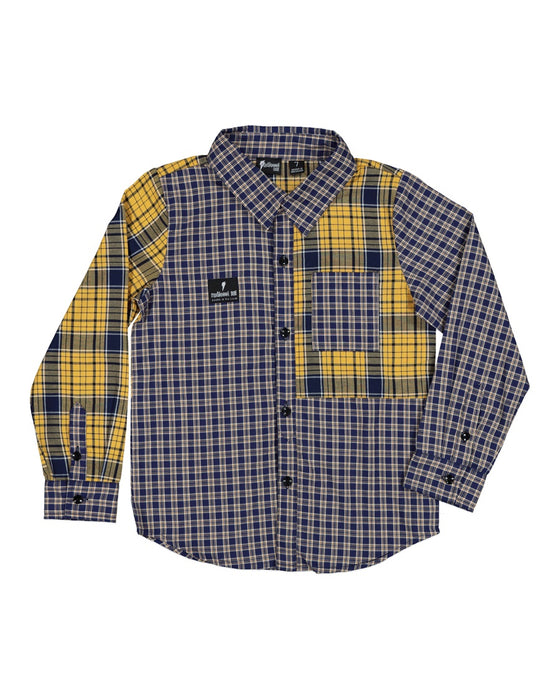 RADICOOL MIXED UP PLAID SHIRT