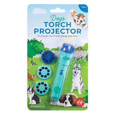 IS GIFT TORCH PROJECTOR - DOGS