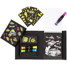 TIGER TRIBE - COLOURING SET ROAD STARS