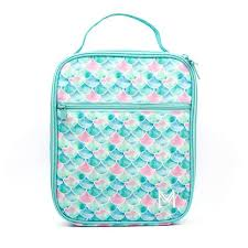 MONTII INSULATED LUNCH BAG - AQUA MERMAID