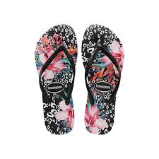 HAVAIANAS KIDS SLIM ANIMAL FLORAL