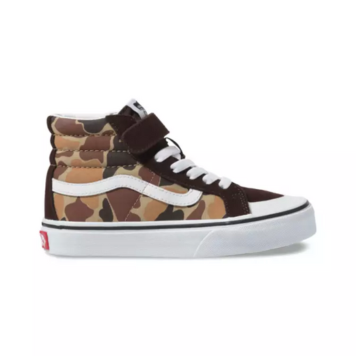 VANS KIDS SK8 HI REISSUE CAMO TRUE WHITE