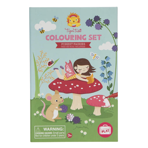 TIGER TRIBE - COLOURING SET FOREST FAIRIES