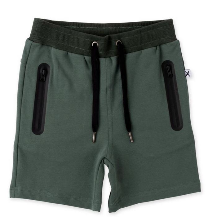 MINTI ZIPPY SHORT FOREST (PRE ORDER)