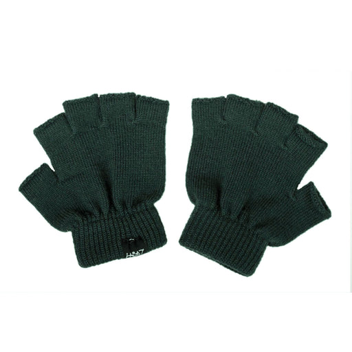 LFOH DOUBLE TROUBLE KNITTED MERINO BABY GLOVES MOSS