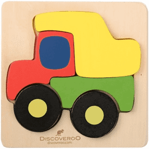 DISCOVEROO CHUNKY PUZZLE - TRUCK