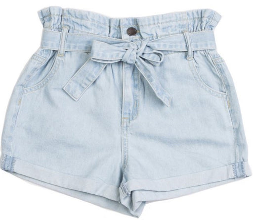 EVES SISTER BILLY SHORT BLEACH DENIM