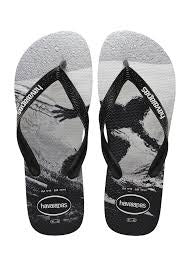 HAVAIANAS KIDS PHOTOPRINT FISH EYES BLACK