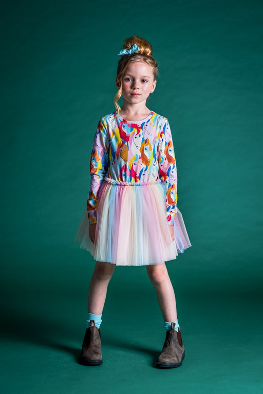 ROCK YOUR KID ALL THE PRETTY HORSES CIRCUS DRESS (PRE ORDER)