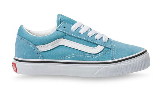 VANS KIDS OLD SKOOL- DELPHINIUM BLUE/TRUE WHITE