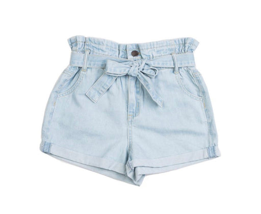 EVE GIRL BILLY SHORT BLEACH DENIM