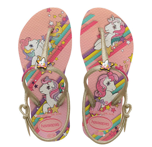 HAVAIANAS MY LITTLE PONY FREEDOM WHITE