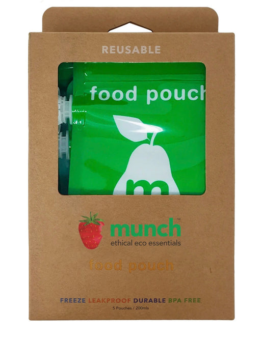 MUNCH REUSABLE FOOD POUCH
