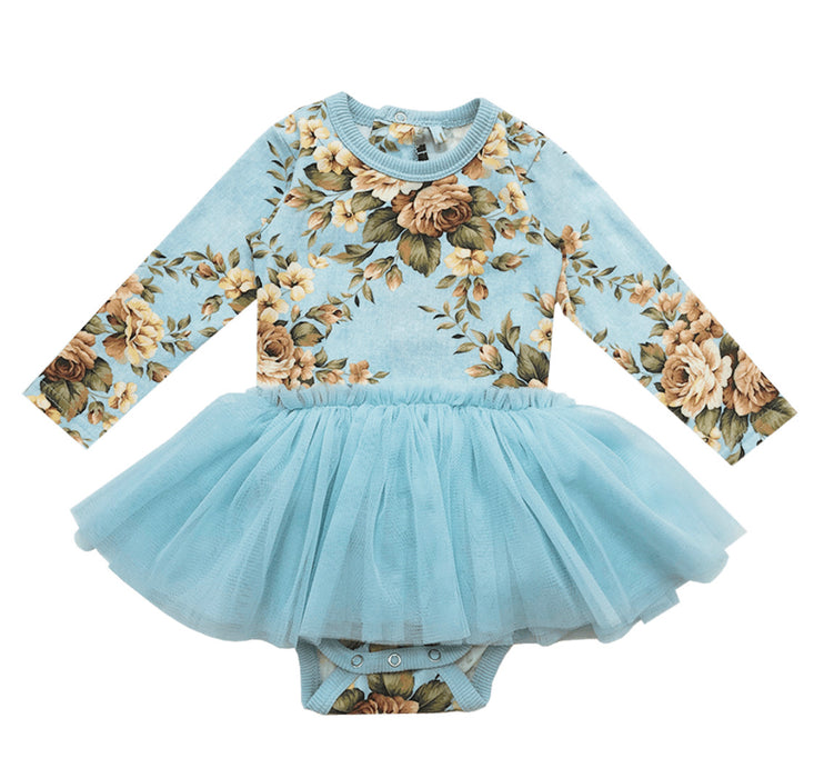 ROCK YOUR BABY WINTER BLOOM BABY CIRCUS DRESS FLORAL (PRE ORDER)