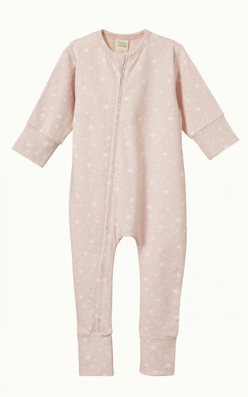 NATURE BABY DREAMLANDS SUIT - STARDUST ROSE BUD PRINT