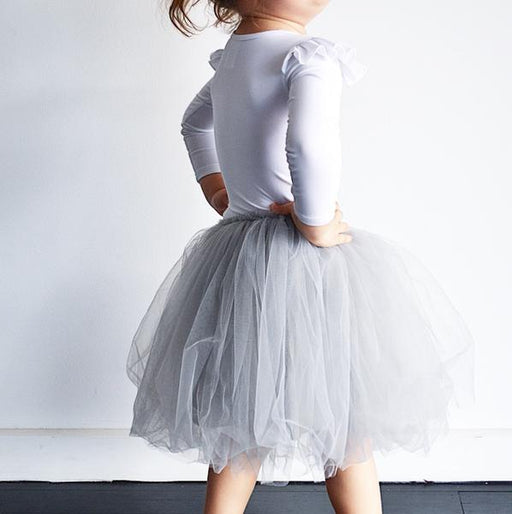 LITTLE HEARTS LUXE TUTU - PERLA