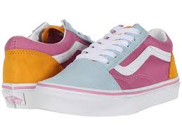 VANS KIDS OLD SKOOL COLOUR BLOCK