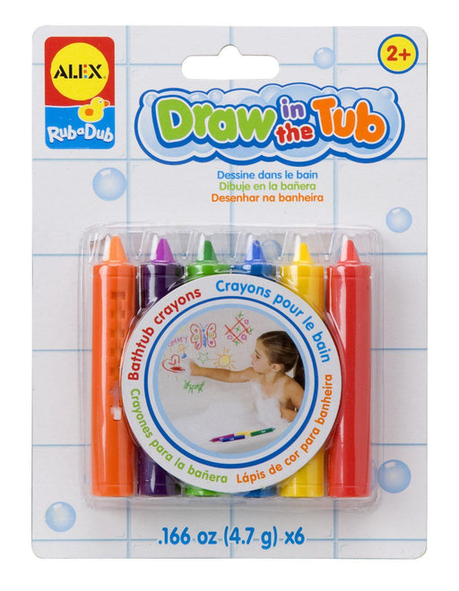The Kids Store-ALEX BATH DRAW IN THE TUB CRAYONS-Bath crayons-