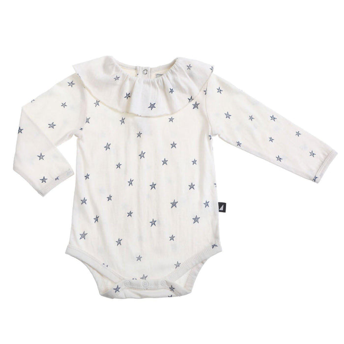 The Kids Store-ANARKID FRILL BODYSUIT - STARRY NIGHT-