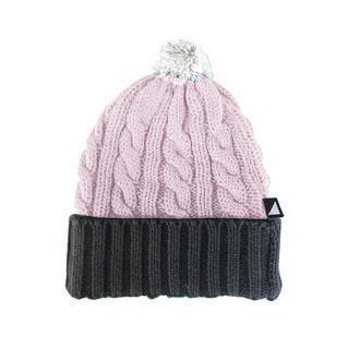 The Kids Store-ANARKID MOSHPIT KNITTED BEANIE - PINK-