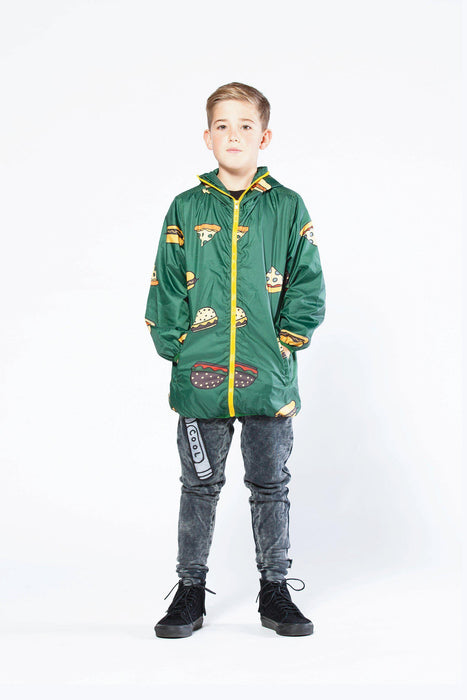 The Kids Store-BAND OF BOYS RAIN JACKET - TAKEOUT GREEN-