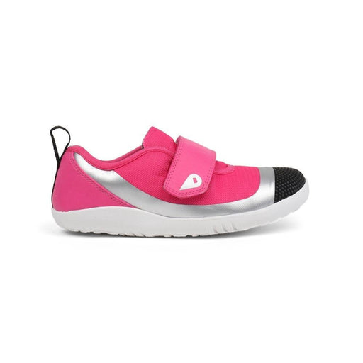The Kids Store-BOBUX KIDS PLUS LO DIMENSION SHOE - FUCHSIA/SILVER-
