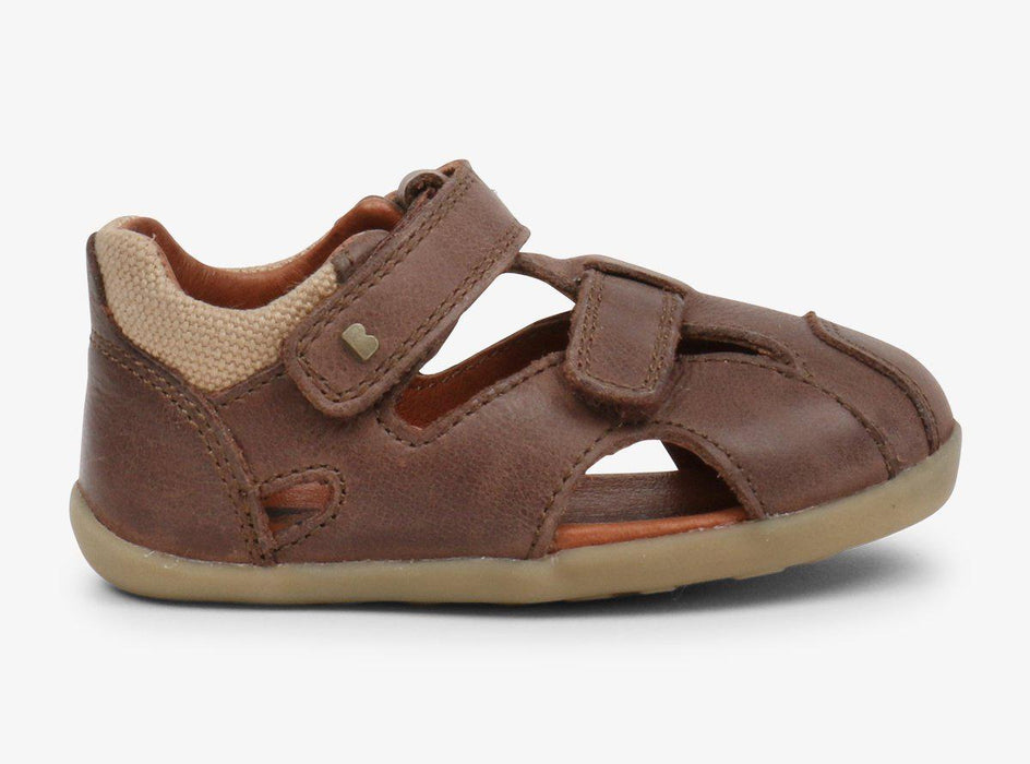 The Kids Store-BOBUX STEP UP CHASE SANDAL - BROWN-