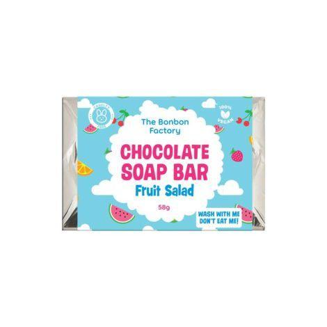 The Kids Store-BON BON FACTORY CHOCOLATE SOAP BAR - FRUIT SALAD-