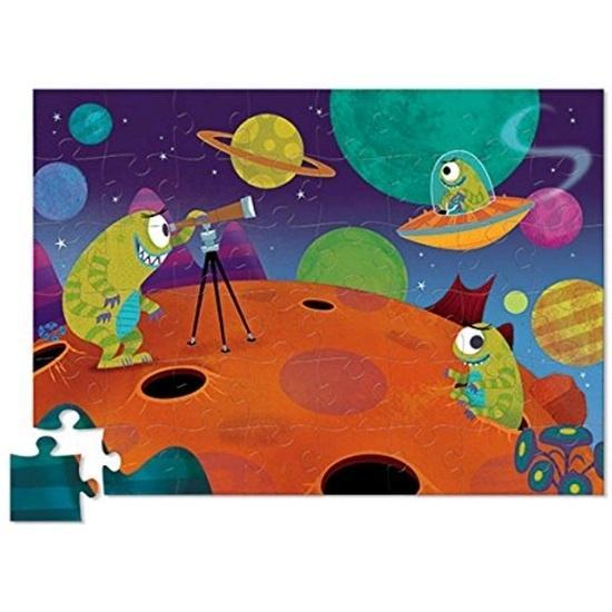 The Kids Store-CROCODILE CREEK CREETURES PUZZLE - ALIEN-