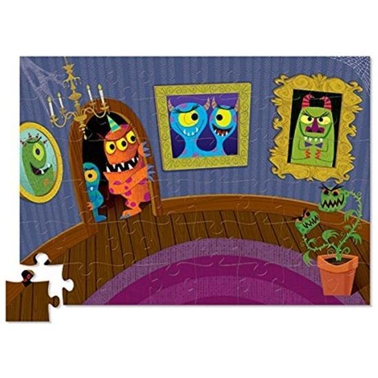 The Kids Store-CROCODILE CREEK CREETURES PUZZLE - MONSTERS-