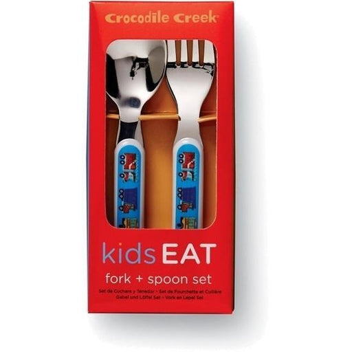 The Kids Store-CROCODILE CREEK CUTLERY SET - BUSY CITY-