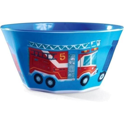 The Kids Store-CROCODILE CREEK MELAMINE BOWL - BUSY CITY-