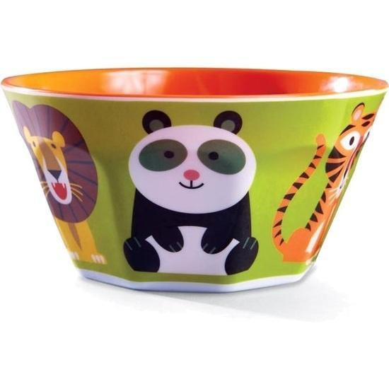 The Kids Store-CROCODILE CREEK MELAMINE BOWL - JUNGLE JAMBOREE-