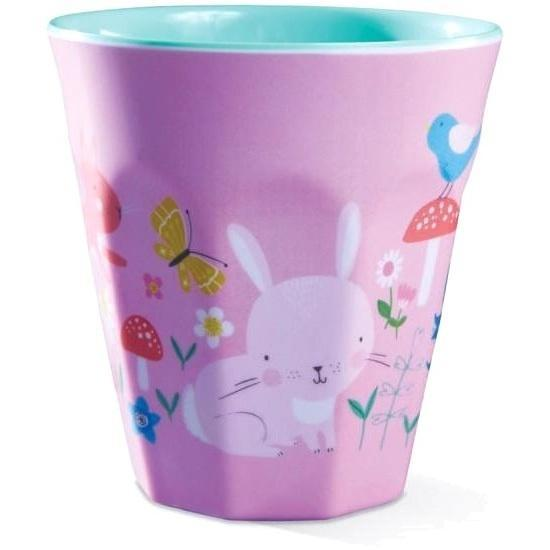 The Kids Store-CROCODILE CREEK MELAMINE CUP - BACKYARD FRIENDS-