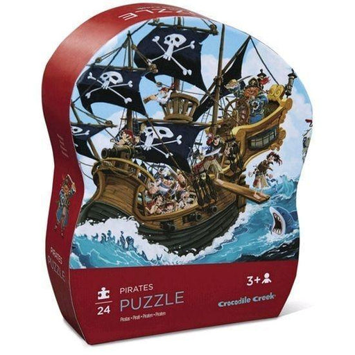 The Kids Store-CROCODILE CREEK MINI PUZZLE PIRATES - 24 PCS-