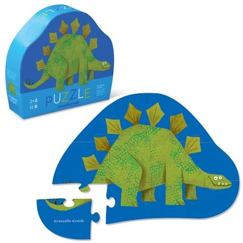 The Kids Store-CROCODILE CREEK STEGOSAURUS PUZZLE - 12PCS-