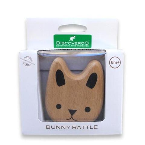 The Kids Store-DISCOVEROO BUNNY RATTLE-
