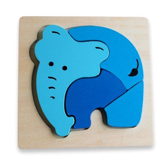 The Kids Store-DISCOVEROO CHUNKY PUZZLE - ELEPHANT-